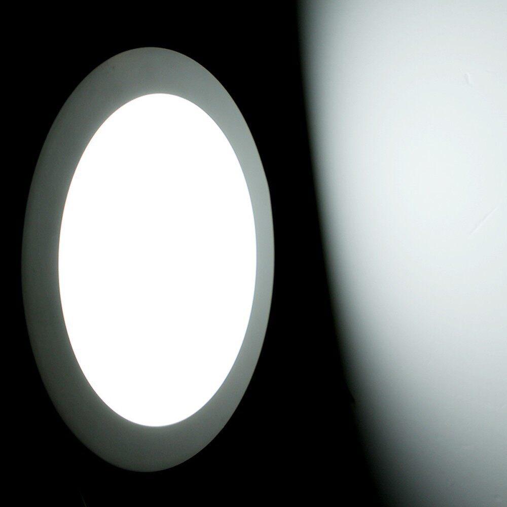 Ceiling Lights -6W Panel Light Round LED Ceiling Light Pure White - Lighting