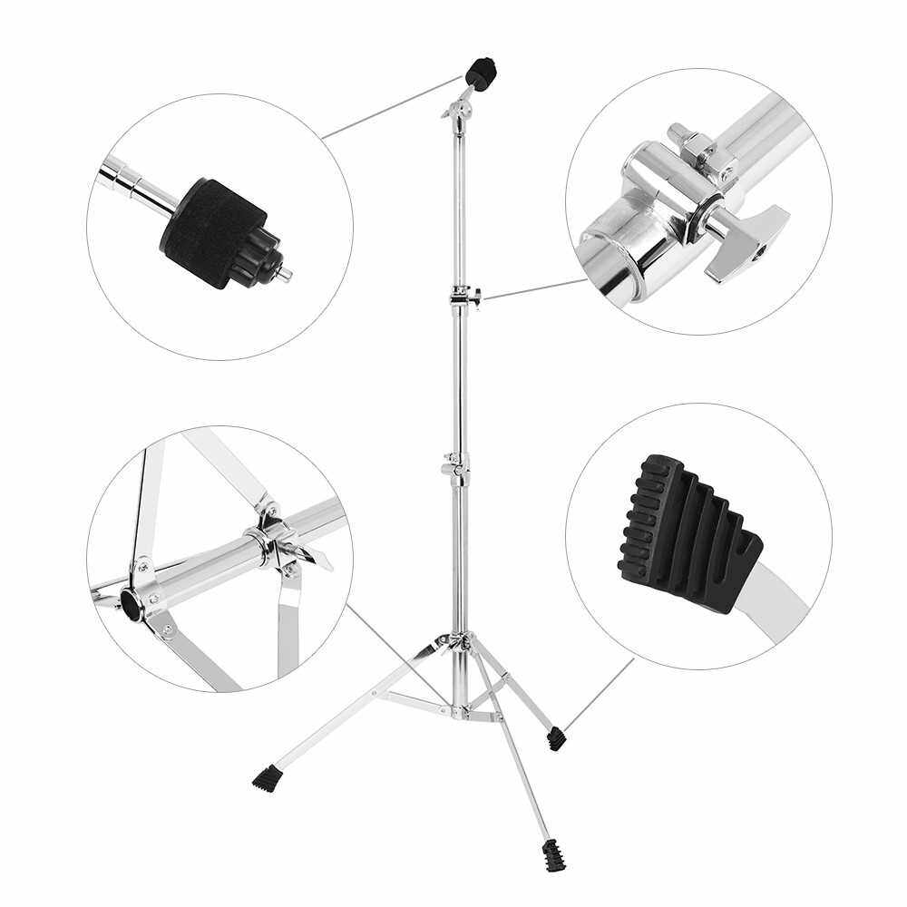 Best Selling Metal Inclinable/ Straight Cymbal Stand Bracket 79cm-153cm Adjustable Height (1)