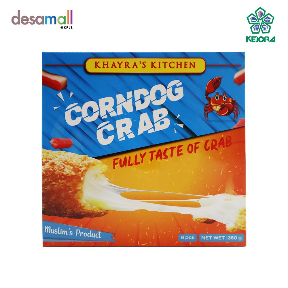 KHAYRA'S KITCHEN Corn Dough Mozzarella Crab Corn Dough Mozarella Crab - 6 sticks