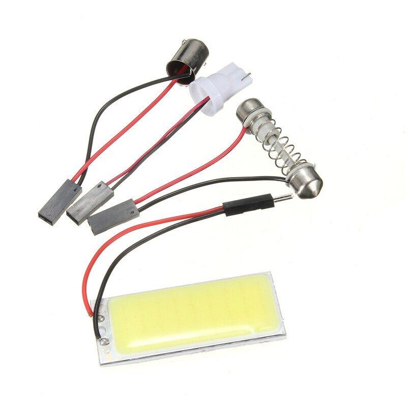 USB Light - T10 501 W5W BA9S Festoon Dome Interior 36 LED COB Adapter Panel Light Bulb - Cool Gadgets