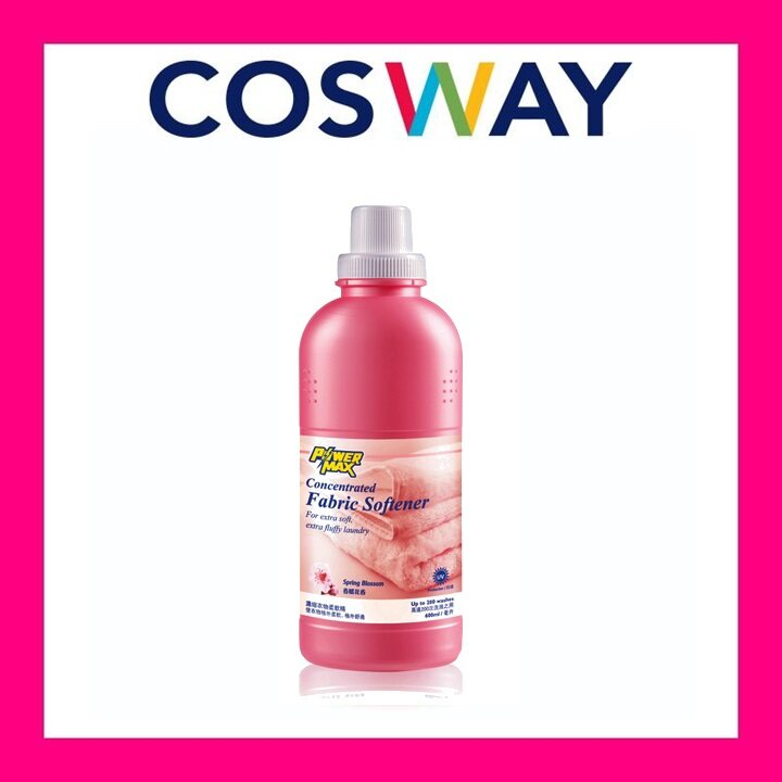 [Ready stock] COSWAY Powermax Concentrated Fabric Softener - Spring Blossom (600ml)