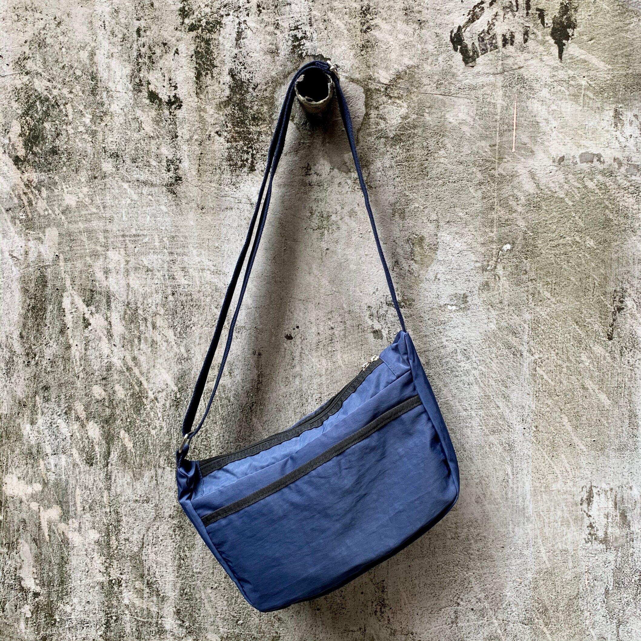 Glosiry Sling Bag,Messenger Bag for men (Grey, Black, Blue)