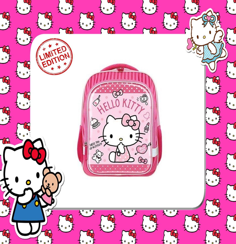 100% SANRIO AUTHENTICSanrio Hello Kitty Primary School Bag Backpack - Pink Colour