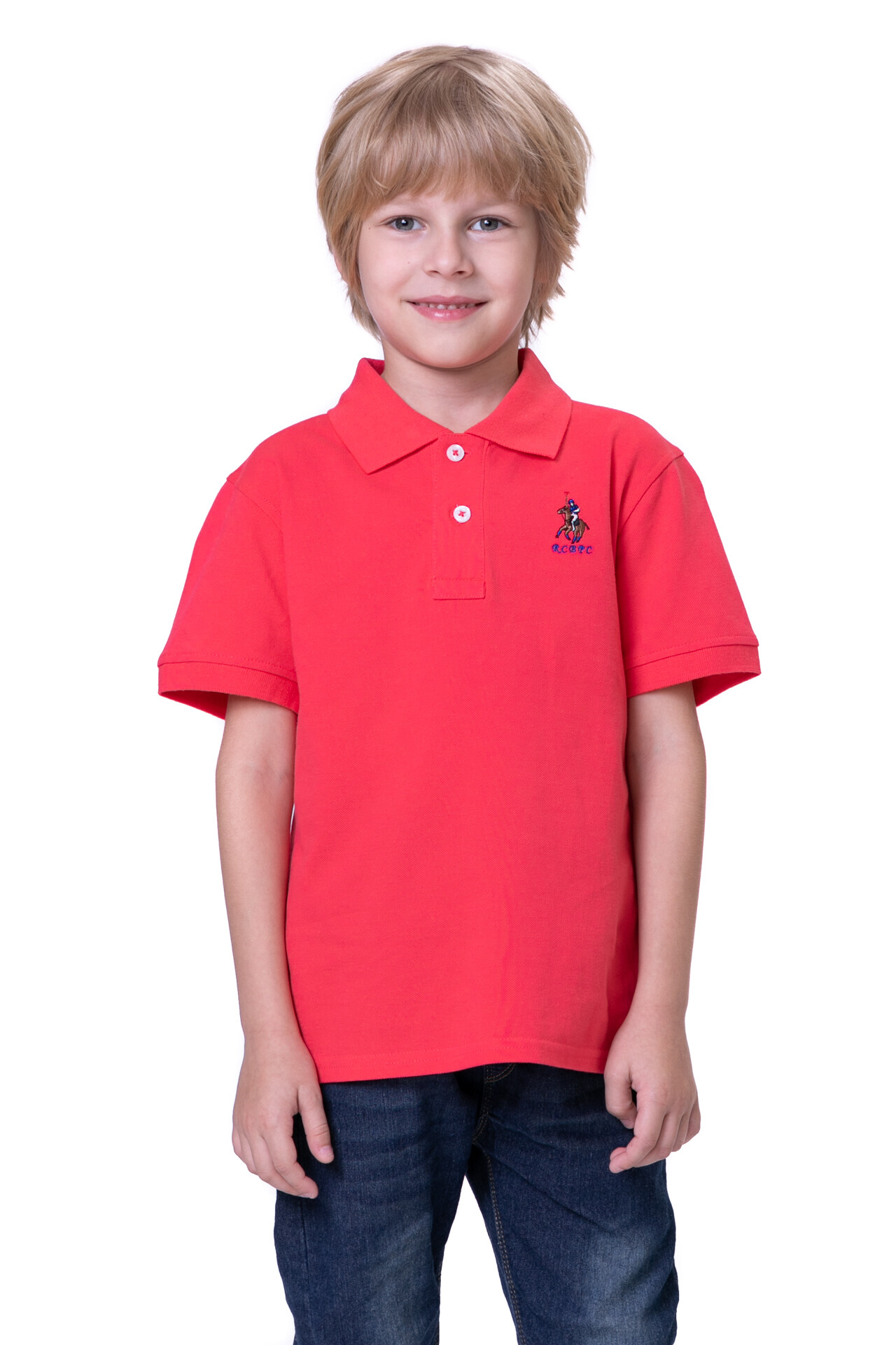 RCB POLO CLUB KIDS POLO TEE SOLIDRBTS10681