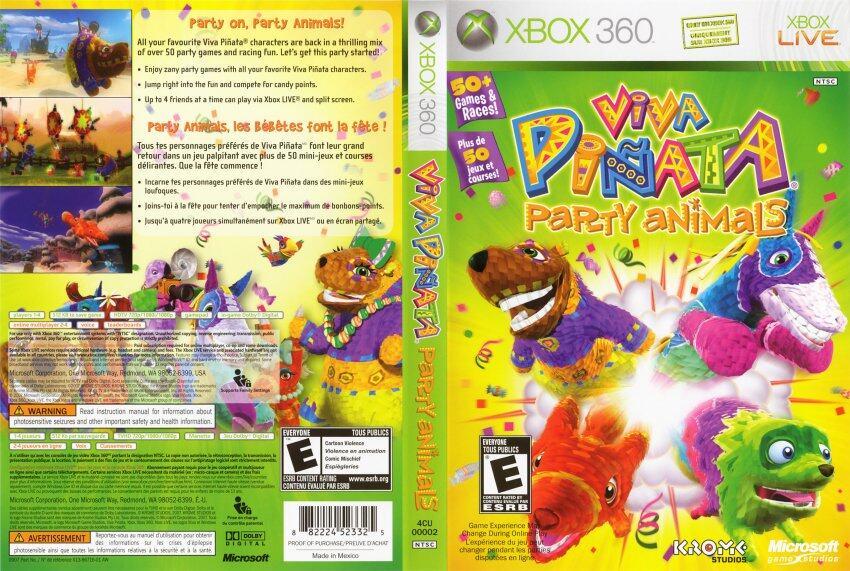 XBOX 360 Viva Pinata Party Animals