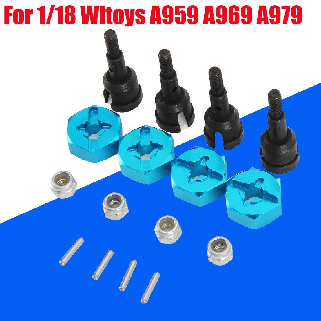Engine Parts - To 1/10 Onroad Racing Wheel Conversion SET For RC 1/18 Wltoys A959 A969 - Car Replacement