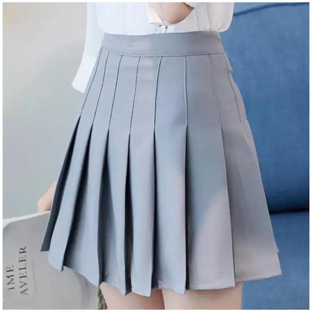 Latest Hot Korean Style Women Short Mini Skirt A-Line Pleated Anti-light Tennis Shorts Skirts Safety