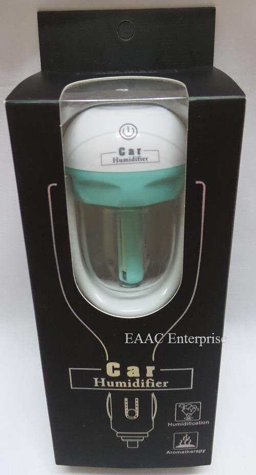 Creative Mini Aromatherapy Car and Air Purifier Humidifier Car Assesories