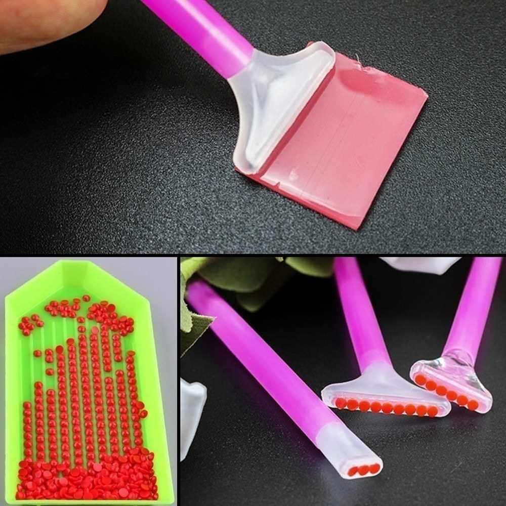 5D DIY Diamond Painting Kits Convenient Diamonds Paintings Tool Set Do It Yourself Tools Kit (40)