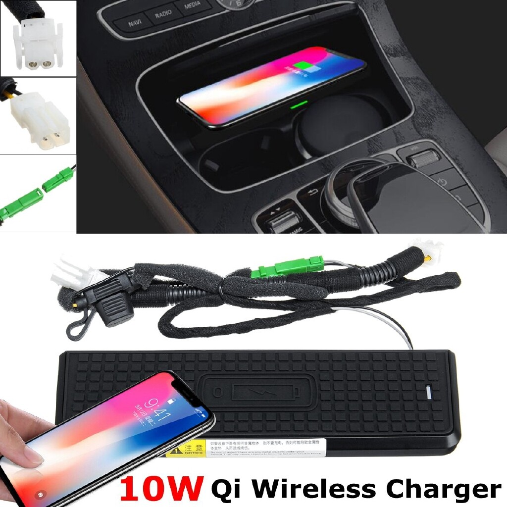 Mobile Cable & Chargers - Car Interior Center Console WIRELESS Charging Charger For BMW F30 F34 F32 F36