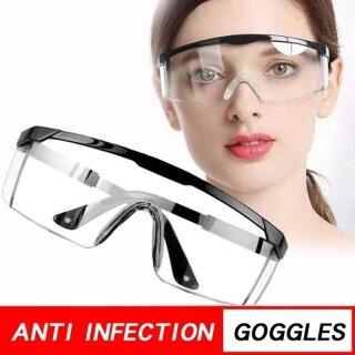 Kính An Toàn Chống Bụi Trong Suốt Bảo Vệ Mắt Goggle Ô Nhiễm Plash Kính thumbnail