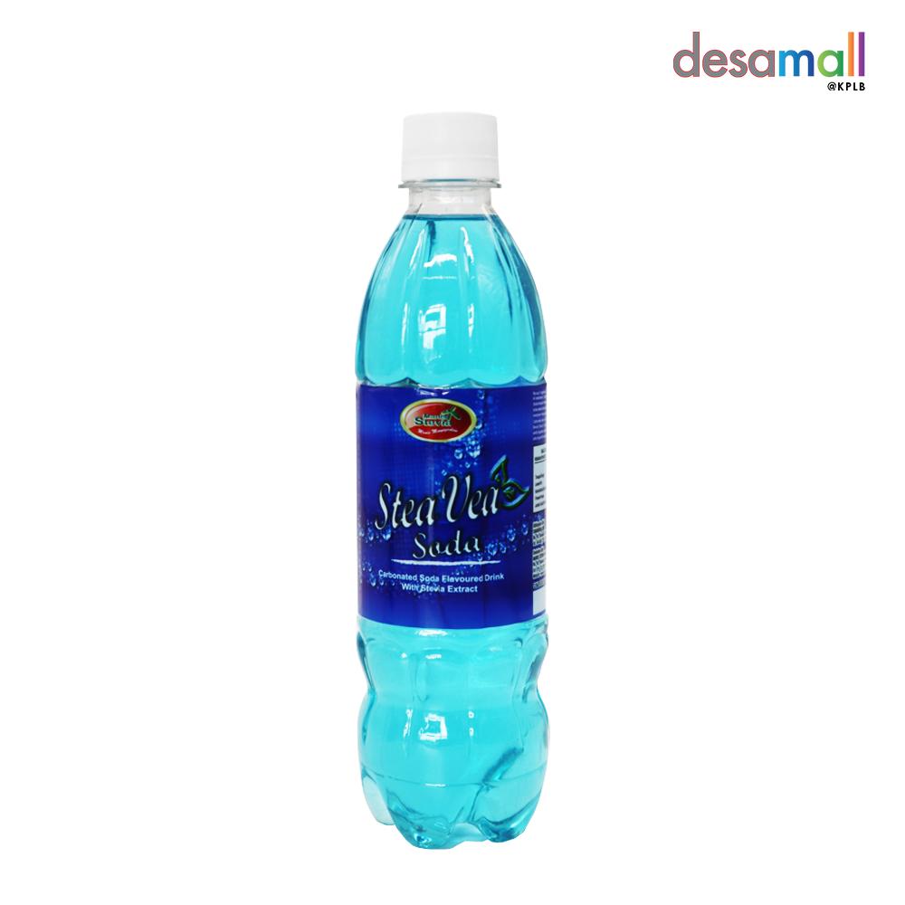 TVIA Minuman Berkarbonat Aiskrim Soda - Bebas Gula (500ml)