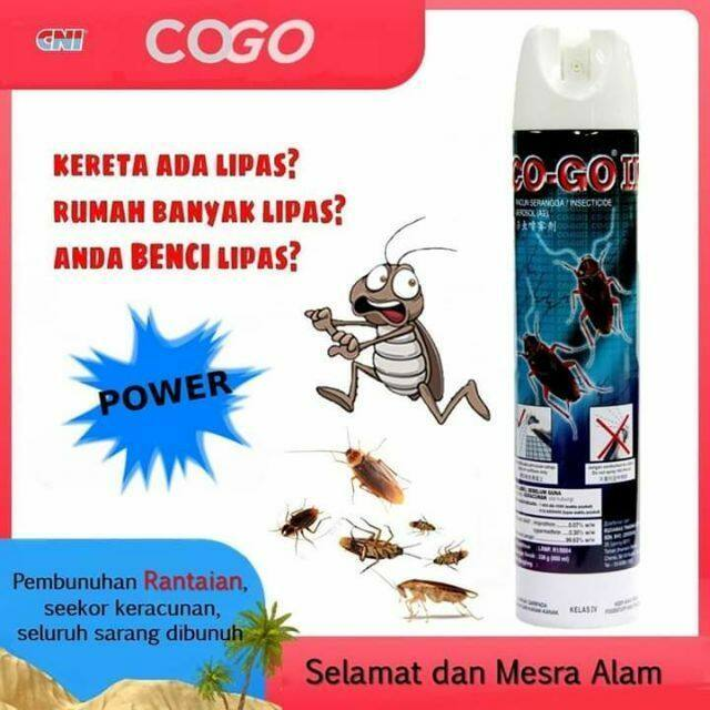 CNI Co-Go II Crawling Insect Spray