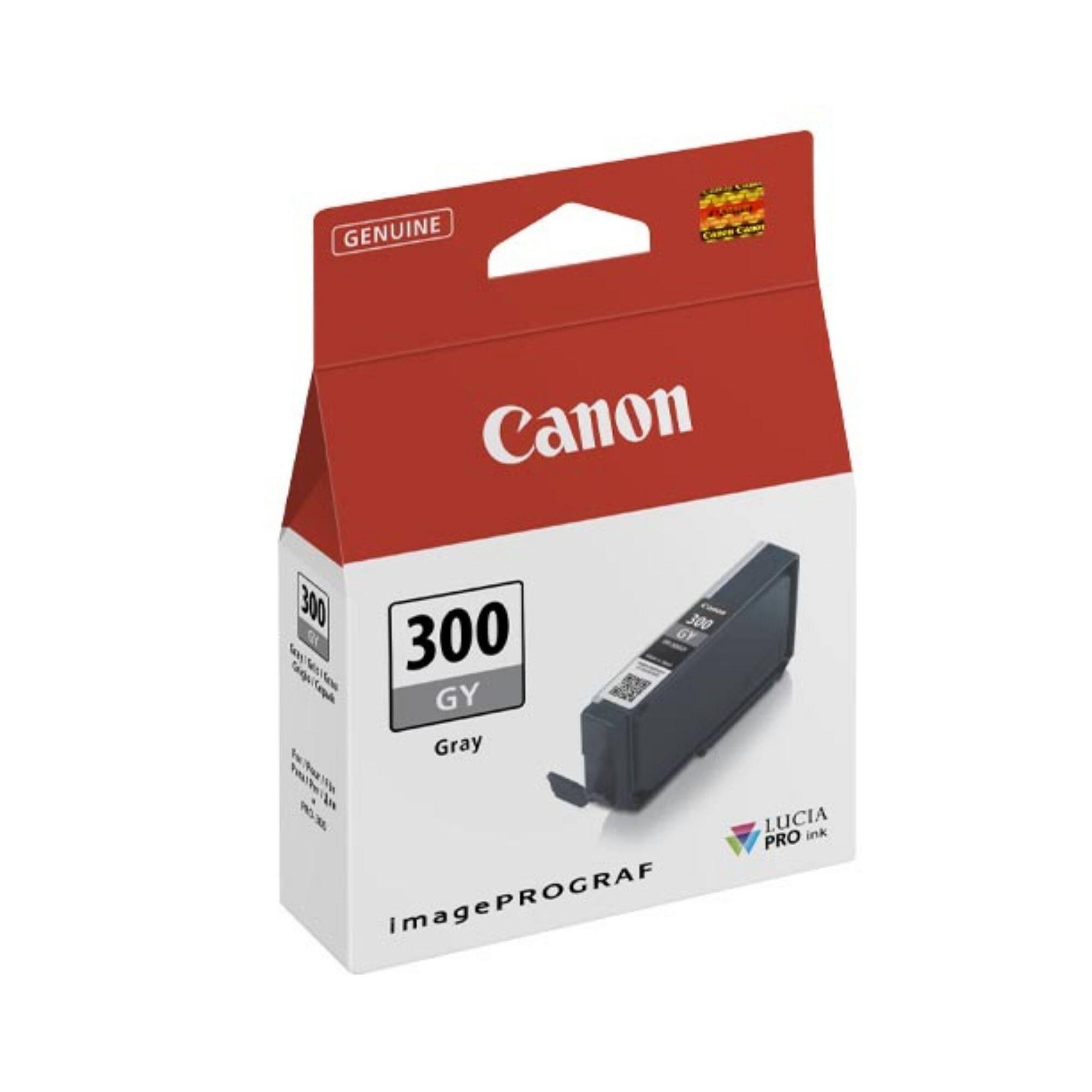 Canon PFI-300 Grey Cartridge (14.4 ml) for PRO-300 Printer