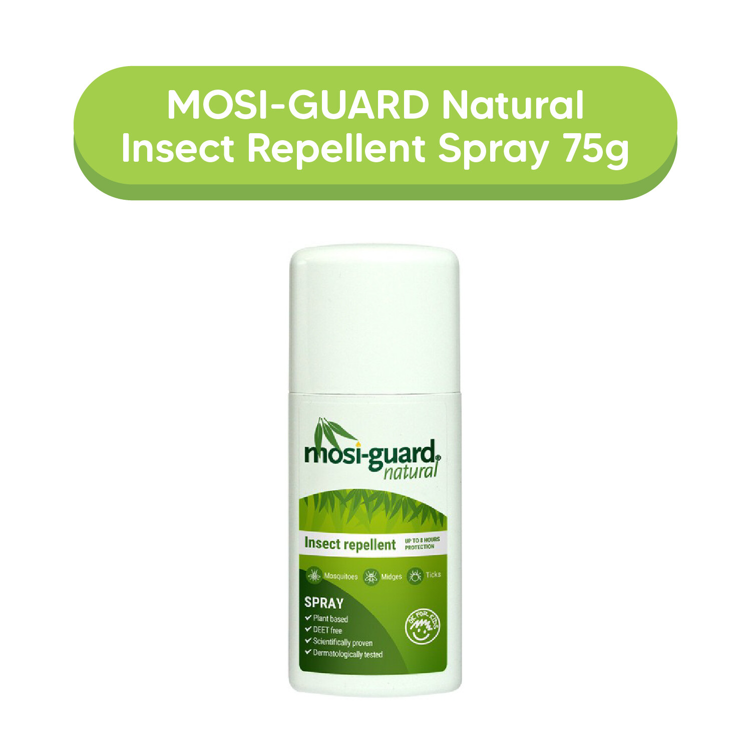 MOSI-GUARD Natural Insect Repellent Spray 75g