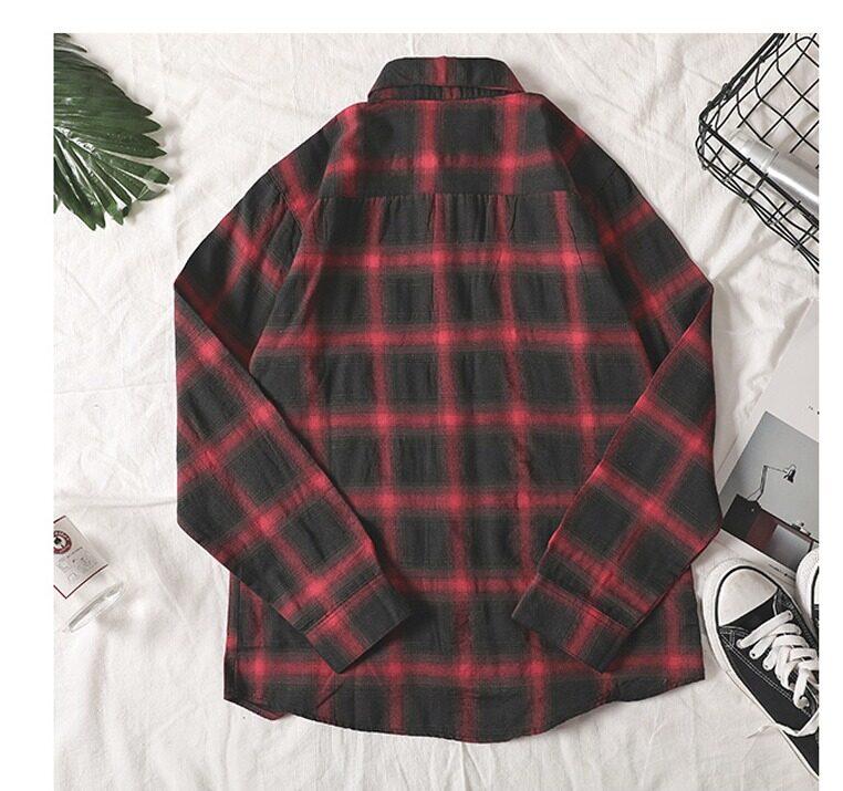 (Pre Order ETA 31/05) JYS Fashion Korean Style Men Checked Blouse Collection 539 - 2005