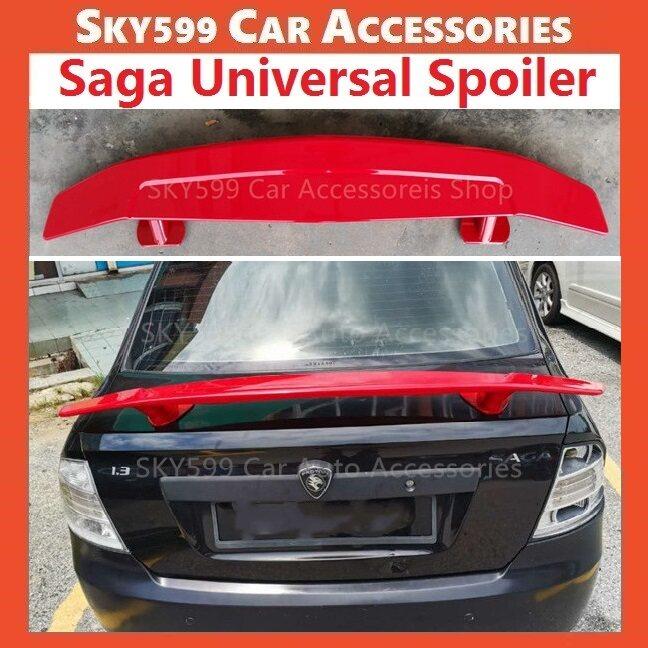 Proton Saga BLM FLX FL Universal Spoiler Red (NO NEED DRILL)