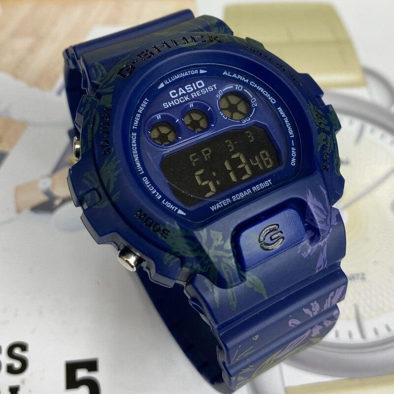 Sport Collectio Casio_G_SHOCK_DW Digital Time Display Fashion Casual Watch For Unisex