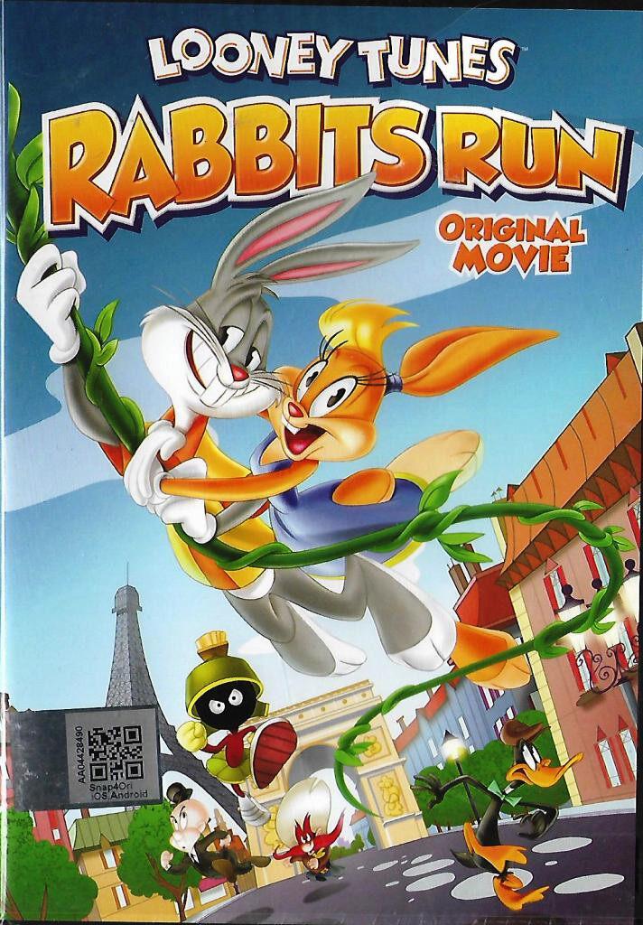 English Cartoons - Rabbits Run Original Movie DVD