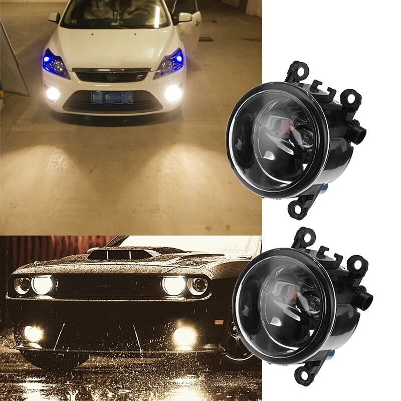 Car Lights - 2 PIECE(s) Clear Lens Driving Fog Lights Bumper Lamps + H11 Bulbs For Ford Focus - Replacement Parts