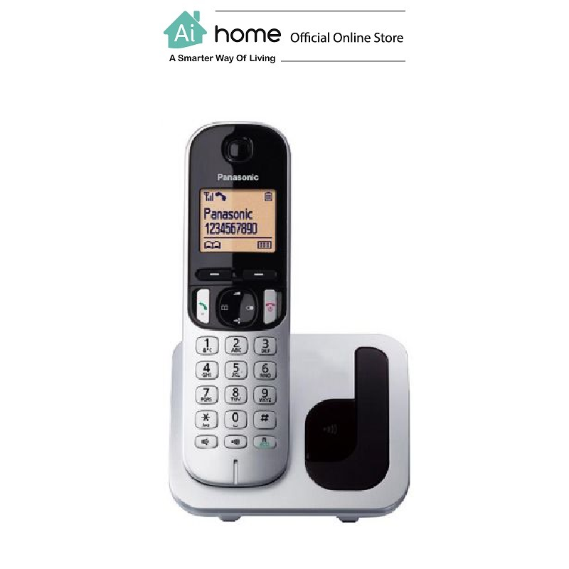 PANASONIC KX-TGC210MLS Cordless Phone With Nuisance Call Block (White) with 1 Year Malaysia Warranty [ Ai Home ] PANASONIC KX-TGC210MLS Nuisance Call Block