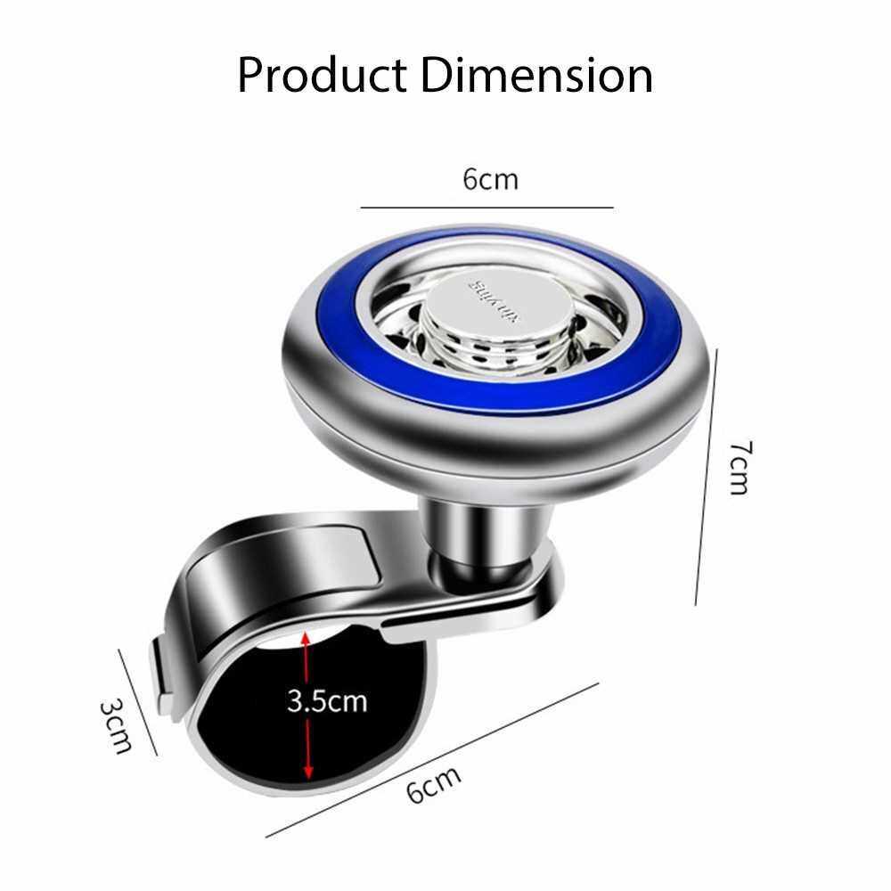 Steering Wheel Spinner Car Steering Wheel Spinner Handle Power Ball Knob Booster for Car Vehicle Blue (Blue)