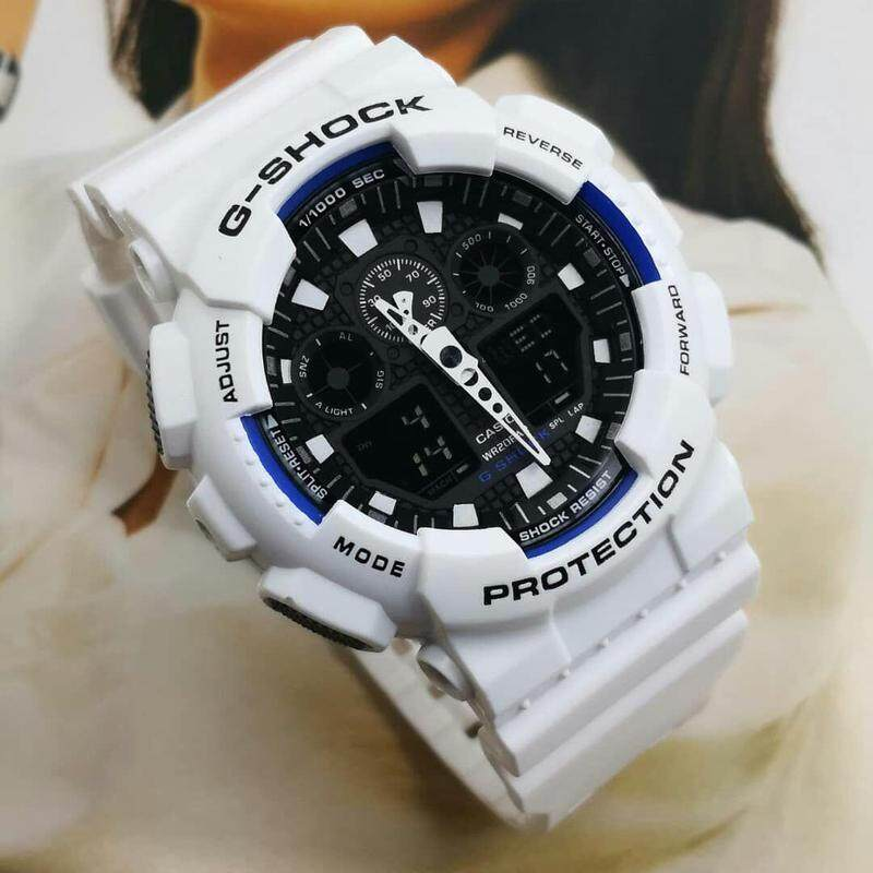 New Arrival_Dual Display GA100_G_Casual_Busines Unisex Watch Full Set All In One Edition Limited Stock With All Accessories Fast Delivery Service