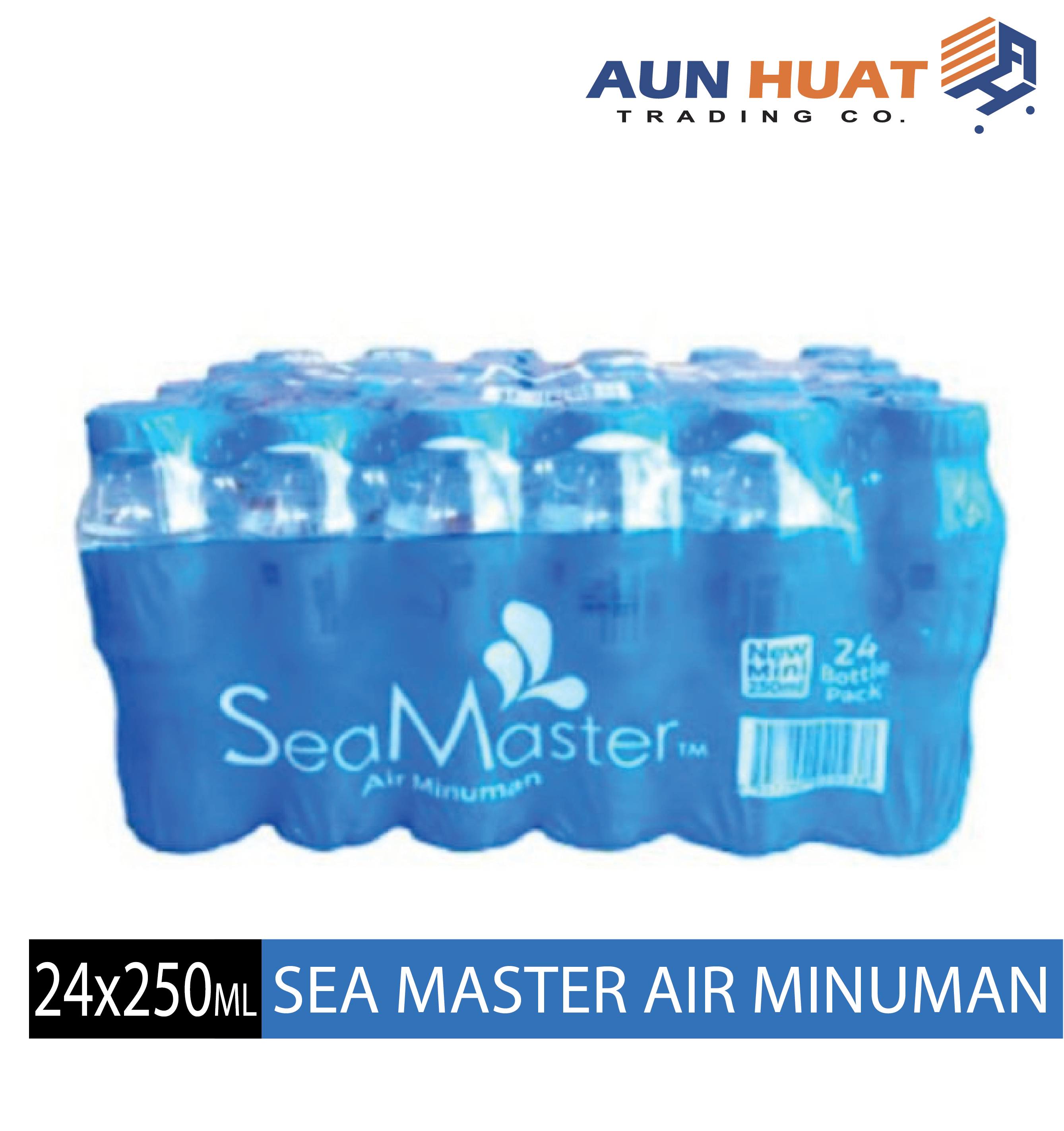 Mini Sea Master Drinking Water 24 X 250 ml