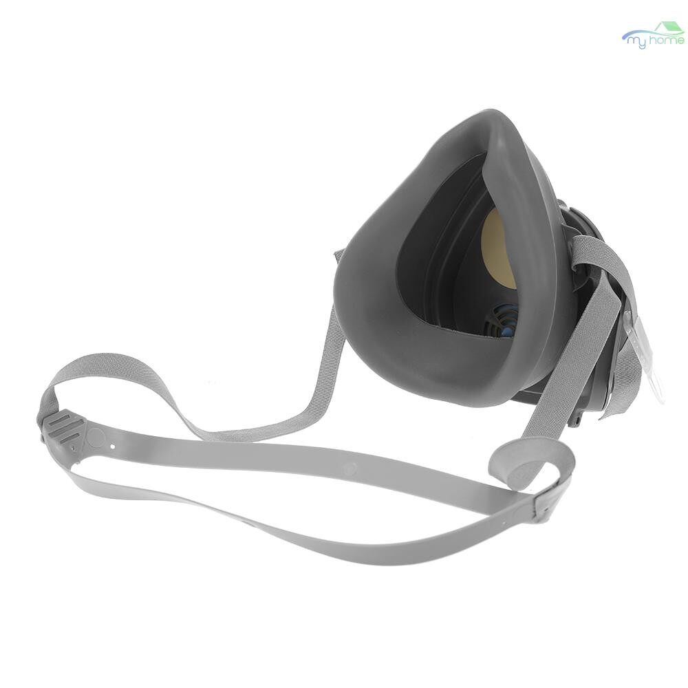 Protective Clothing & Equipment - Anti Dust Respirator Filter Gas Mask SET Chemical Anti-dust Masks Industrial Paint - #