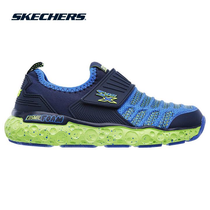 Skechers Cosmic Foam Boys Lifestyle Shoe - 97506L-NVLM