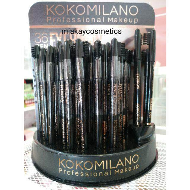 FREE GIFTKoko Milano Professional Eyebrow Pencil With Brush