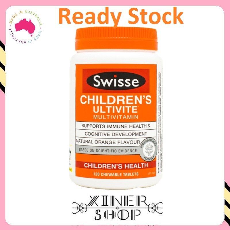 [Ready Stock] Swisse Children's Ultivite Muitivitamins ( 120 Capsules ) ( Made In Australia )