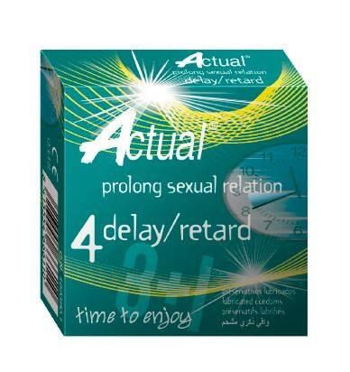 Nulatex Actual Smooth With Delay Condoms (12 pcs)