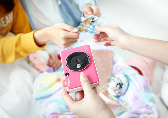 Canon iNSPiC [C] CV-123A Instant Camera Printer