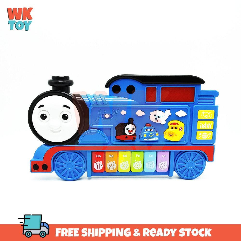 WKTOY Thomas Train Baby Musical Educational Piano Developmental Music