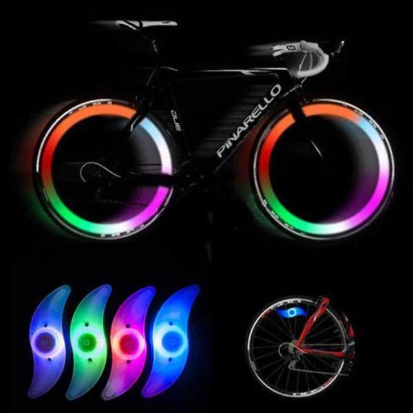 Đèn LED Nói Điều Ước, Xe Đạp Đèn LED Sáng Gắn Bánh Xe Lốp Xe Đạp Có Dây Nan Hoa
