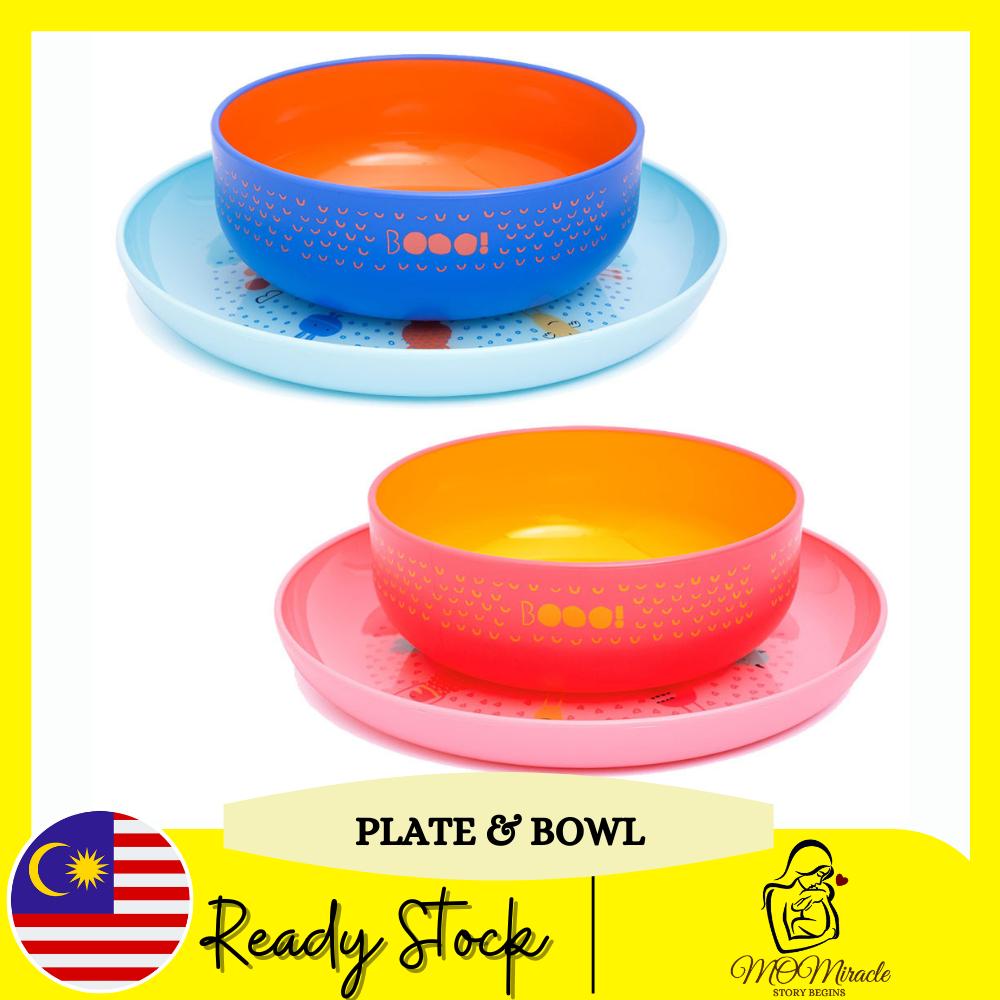 Suavinex Booo Plate and Bowl Set