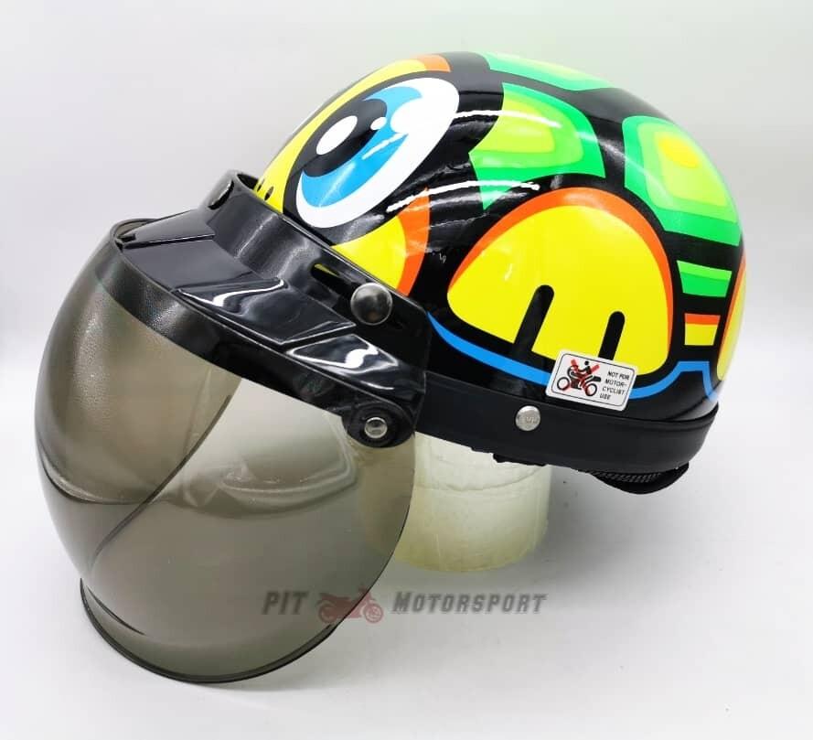 Turtle MHR III Half Cut Helmet / MHR 3 100% Original Kura EX5 Y110 Y80 Wave 125Z Ysuku RFS150 VF3i C70 RS150 LC135 Y15