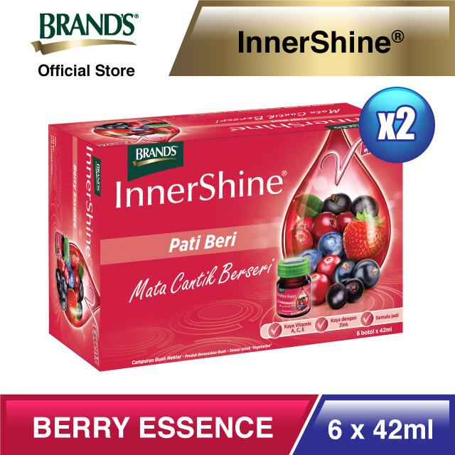 BRAND'S® InnerShine Berry Essence Twin Pack (6's) - 12 bottles x 42ml