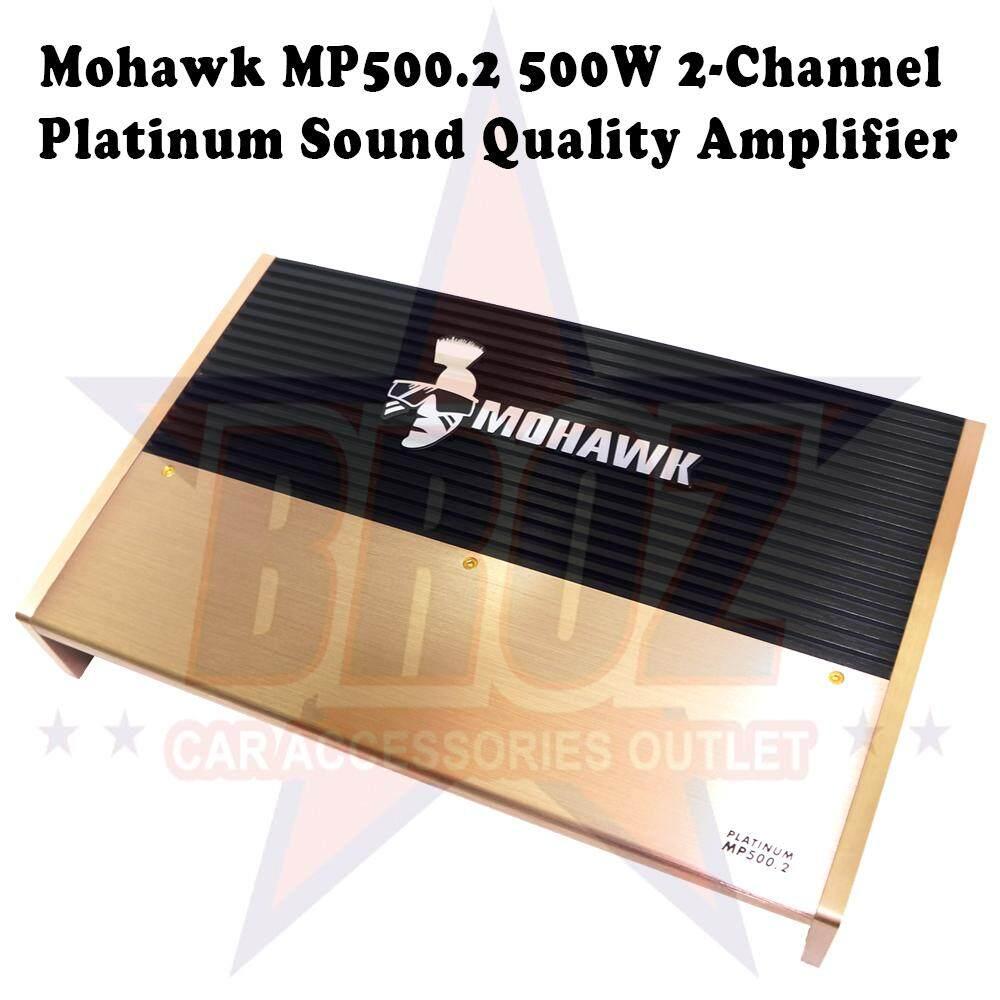 Mohawk MP 500.2 500W 2 Channel Platinum Sound Quality Amplifier