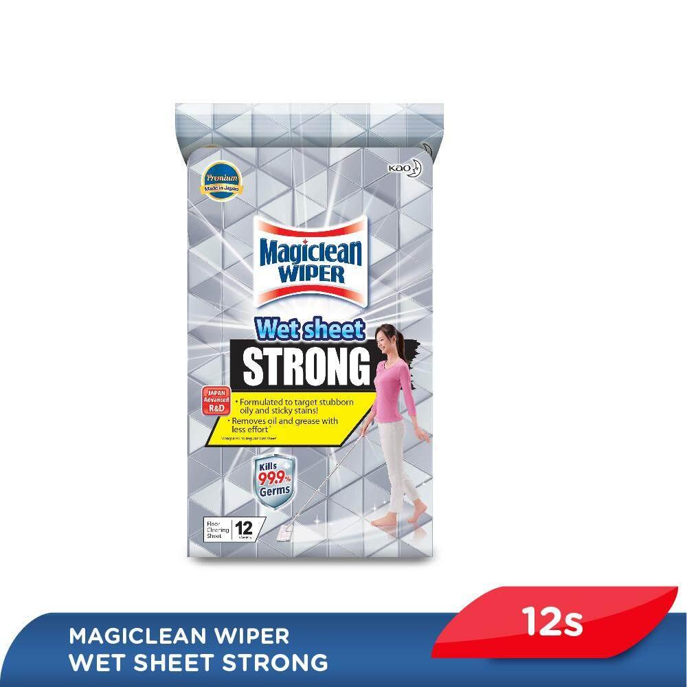 Magiclean Wiper Wet Sheet - Strong (12s)