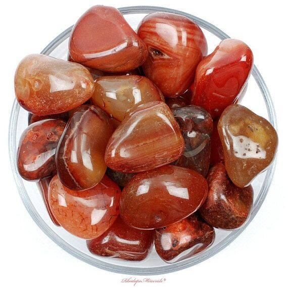 Natural Red Agate Quartz Crystal/ Mineral Crystal/ Crystal Stone/ Healing Material Crafts