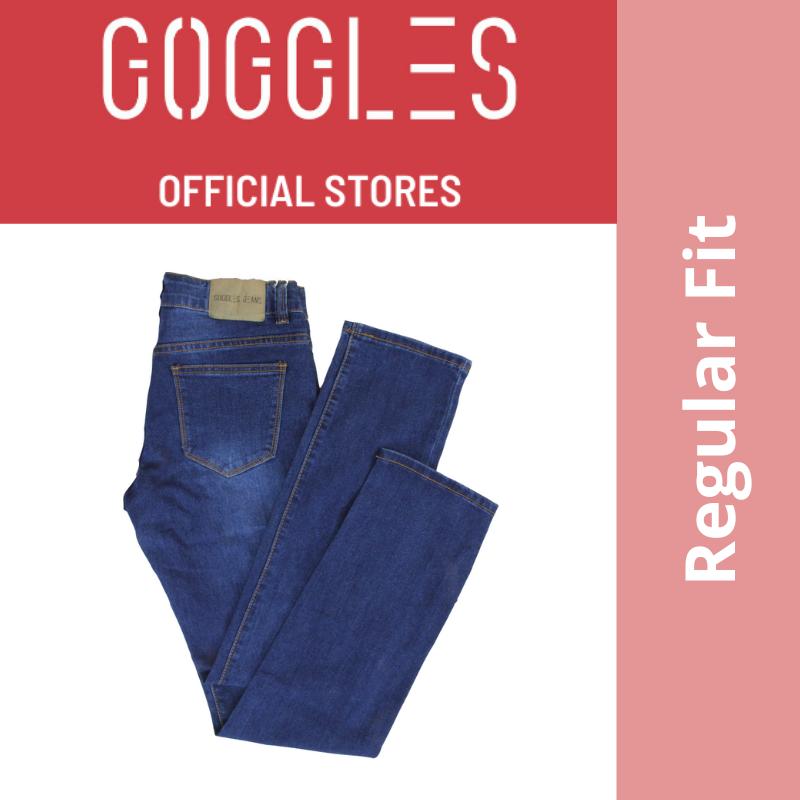 GOGGLES Ladies Denim Women Jeans Regular Fit Dark Blue 100349