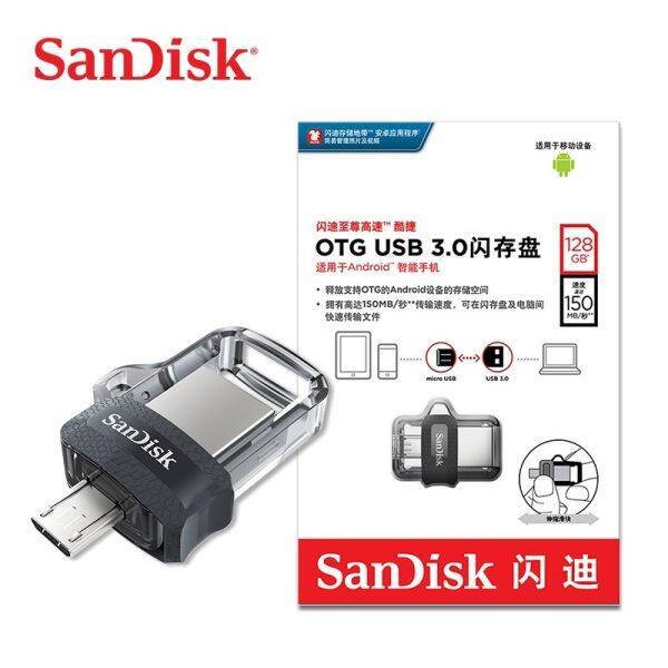 Bảng giá SanDisk DD3 USB 3.0 OTG Ổ Đĩa Flash 128GB 64GB 32GB 16GB Pen Drive Ổ Đĩa Flash Thẻ Nhớ Cho PC/Android Micro Phong Vũ