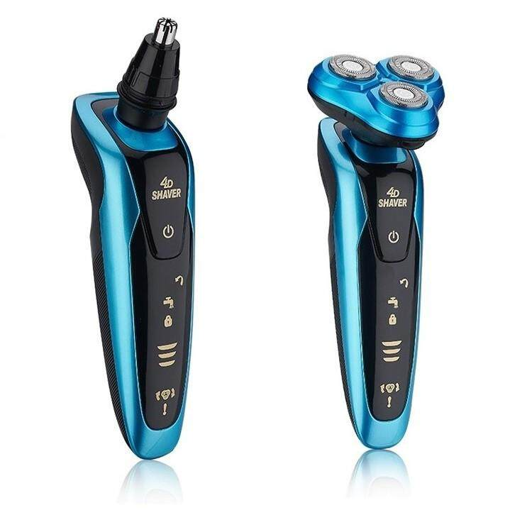 Shaving - E-Sonic 4D Rechargeable Electric Shaver - [SILVER]