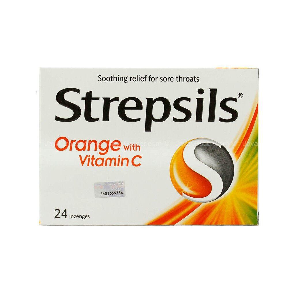 STREPSIL ORANGE VITAMIN C