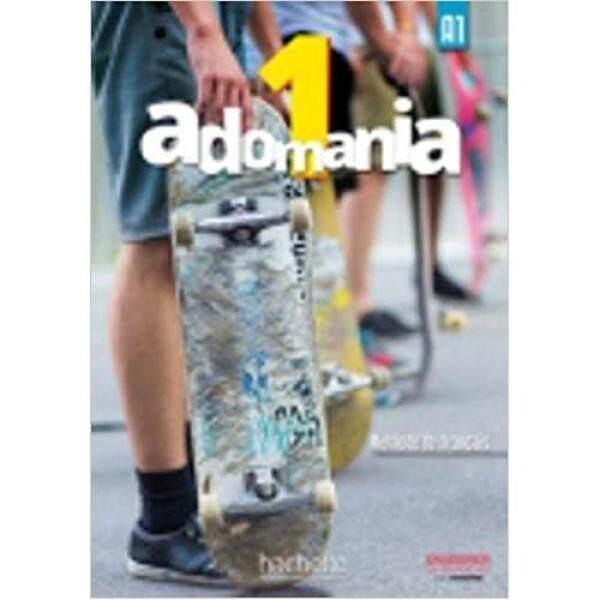 Adomania : Niveau 1  Livre De LÉlève + Cd-Rom * pre order * pre order