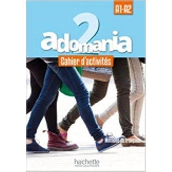 Adomania : Niveau 2 Cahier DActivités + Cd Audio + Parcours Digital® * pre order * pre order