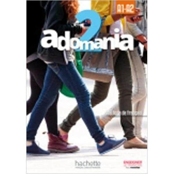 Adomania : Niveau 2 Livre De LÉlève + Cd-Rom * pre order * pre order