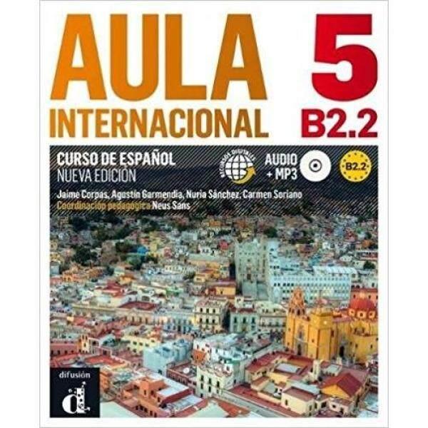 Aula Internacional 5 Nueva Edicion B2.2 Libro Del Alumno + Cd * pre order * pre order